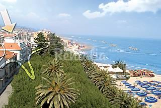 2 Apartamentos para 2-4 personas a 50 m de la playa Ascoli Piceno