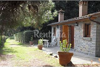 the WoodHouse  in the educational farm La Dogana Perugia
