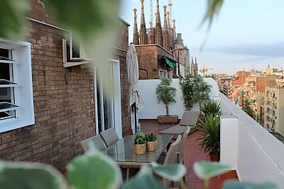 Penthouse terrace, en el corazón de BCN. Barcelona