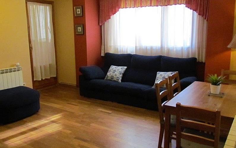 Apartment for rent Formigal Huesca - Living-room