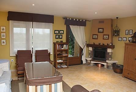 House Living Room Madrid Lozoyuela Navas Sieteiglesias Cottage