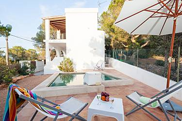 House Outdoors Ibiza San José House