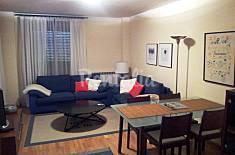 Apartamento para 4 personas, garaje y piscina Huesca