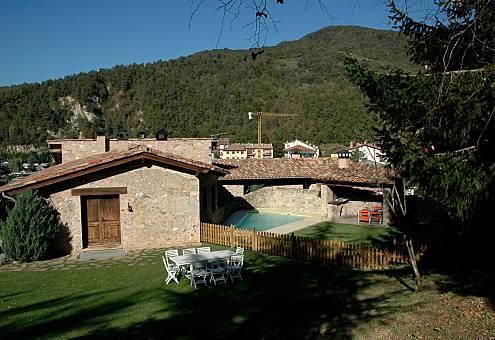 Casa de 4 habitaciones La Pahissa Girona/Gerona