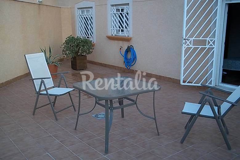 Apartment for 4 people only 1000 meters from the beach Murcia