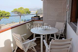 Apartment for rent on the beach front line Messina