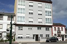 3 apartamentos a 50 m. de la playa Lugo