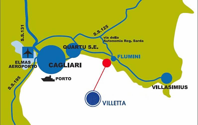 Villetta Dintorni Cagliari Quartu Sant'Elena casa - Dintorni