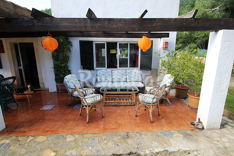 House Terrace Majorca Campos House