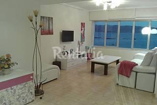 Apartamento para 8 pessoas em frente à praia Pontevedra