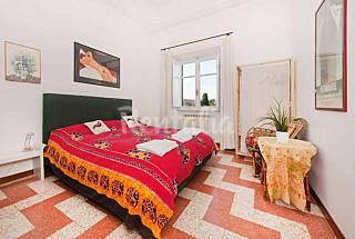 Big apartment San Giovanni with view,close Termini Rome