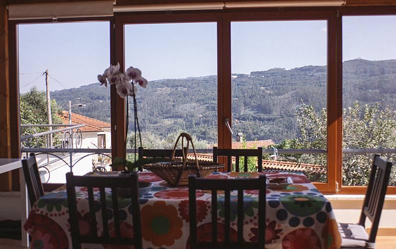 Casas Sala de Jantar Aveiro Sever do Vouga Casa rural - Sala de Jantar
