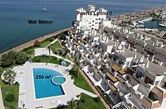 Apart. para 4-6 pers. en 1a línea del Mar Menor  Murcia