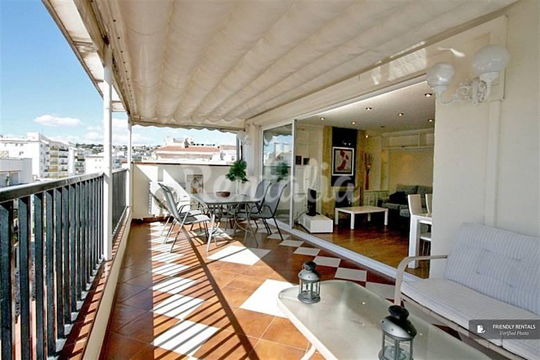 El apartamento sant francesc attic en sitges sitges barcelona ruta del vino del pened s - Restaurante attic barcelona ...