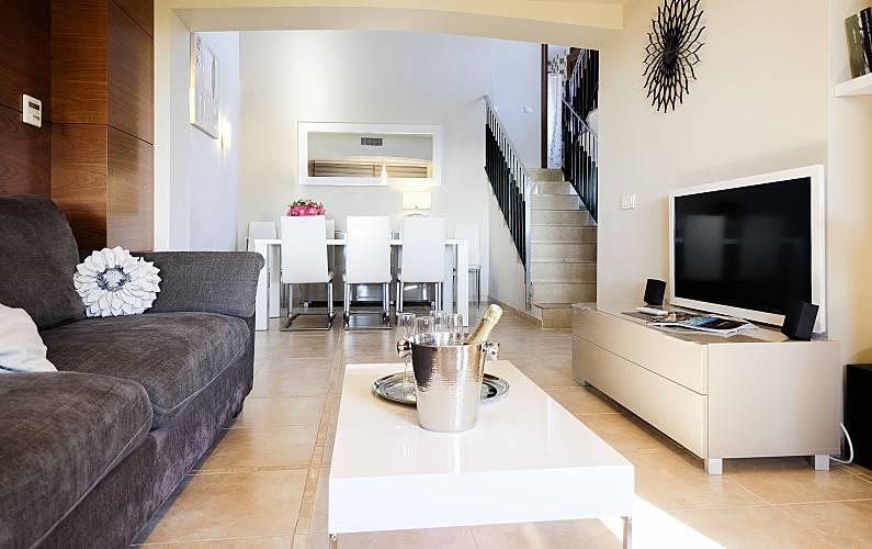 Serenity Living-room Tarragona Mont-roig del Camp House - Living-room
