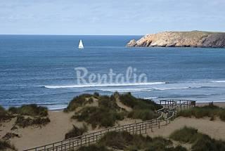 Appartement pour 4 personnes à front de mer Asturies