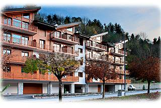 2 Apartments with 1 bedroom in Comano Trentino