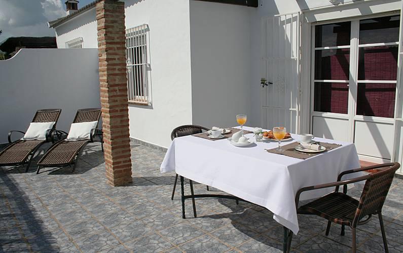 Casas Terraza Cádiz El Gastor Casa en entorno rural - Terraza