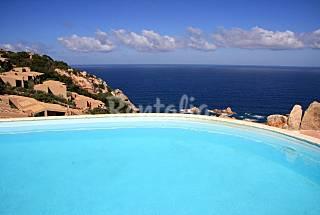 Villa independiente con vistas al mar y piscine Olbia-Tempio