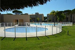 Apartamento bajo con jardín a 1000m de la playa Cádiz