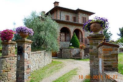 Villa di Dario con 3 camere doppie Fraz.  La Croce Arezzo