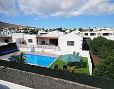 Volledig uitgeruste villa op 700 meter van het strand Lanzarote