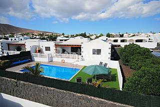 Totally equipped villa only 700 meters from the beach Lanzarote