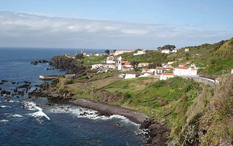 2 Vistas desde la casa Pico Lajes do Pico Casas - Vistas desde la casa