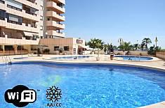 Ático en 1ª línea de playa vistas al mar y piscina Alicante