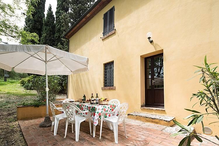 Casa en alquiler con piscina terricciola pisa colinas for Alquiler de casas con piscina