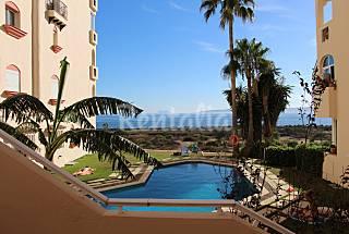 Apartamento 1-4 personas, 1ª línea playa,  piscina Málaga