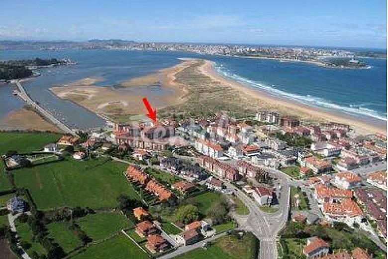 Apartamento de 2 habitaciones a 150 m de la playa - Somo ...