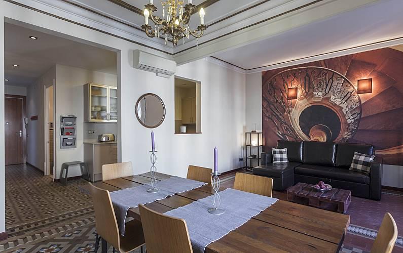 Appartamento per 4 6 persone nel centro di barcelona for B b barcellona economici centro