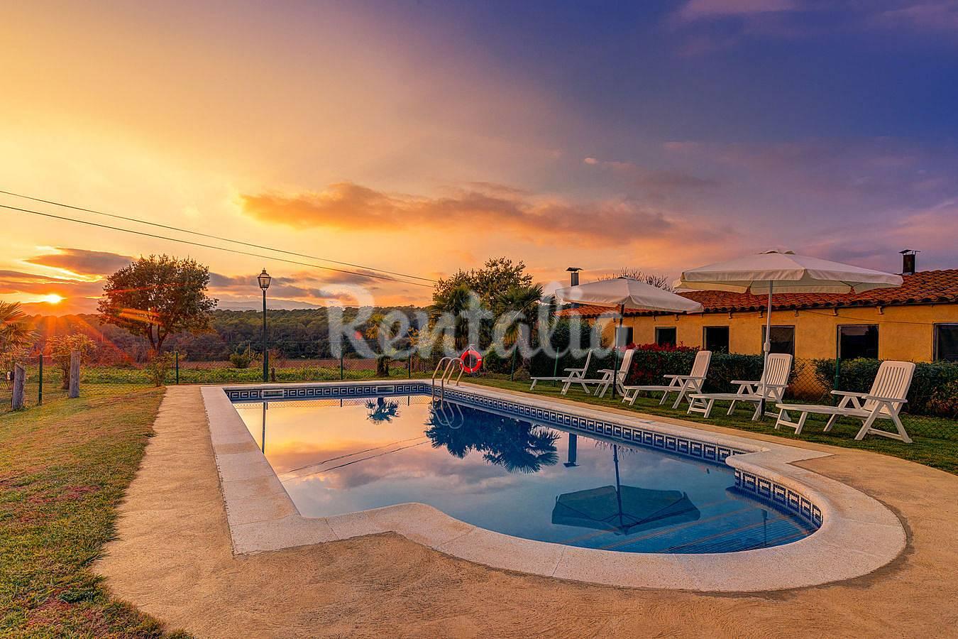 Casa de 4 habitaciones con piscina pujals dels pagesos - Casa en cornella ...