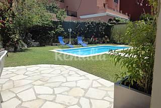 villa cercana a la playa con piscina privada Málaga