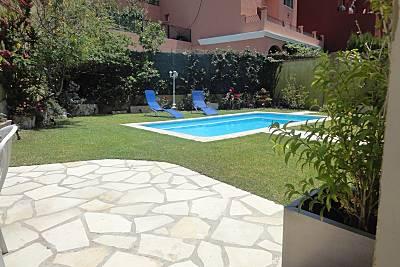 villa cerca playa y piscina privada deagua salada  Málaga