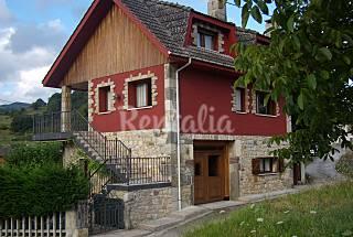 Maison pour 7-10 personnes avec jardin privé Asturies