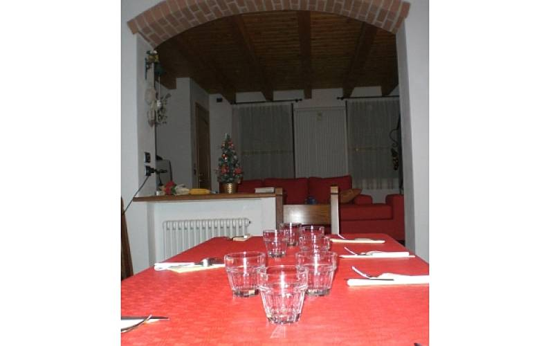 La casa nella vecchia ferrovia velo d 39 astico vicenza for Sala pranzo vecchia