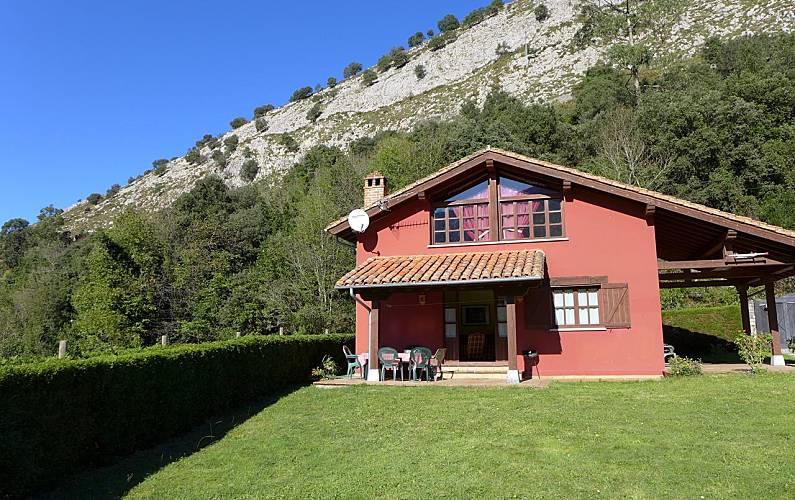 Villa para 8 personas a 10 km de la playa Asturias - Exterior del aloj.