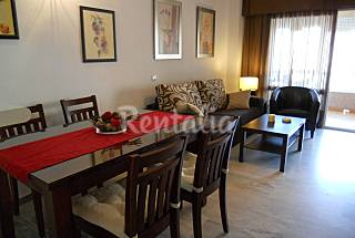 Apartment for 4-6 people on the beach front line Málaga