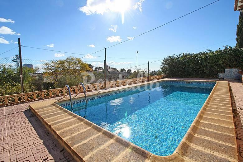 Villa estacion ii calpe calp alicante costa blanca for Piscinas calpe