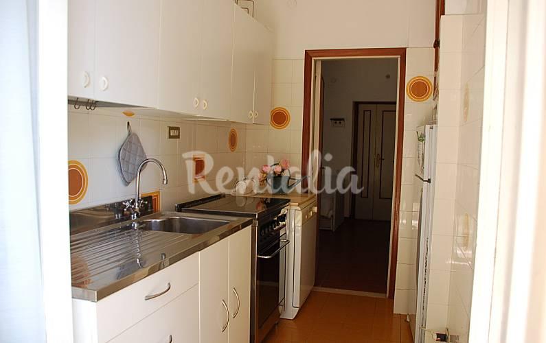 Apartamento en alquiler a 200 m de la playa marcelli - Ancona cocinas ...