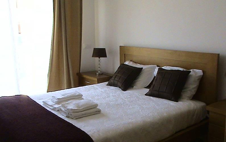 Apartamento para 4-5 pessoas a 150 m da praia Leiria - Quarto