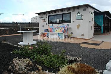 casa Jardín Fuerteventura La Oliva Villa en entorno rural