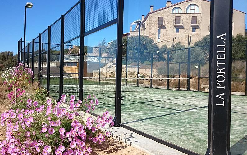 La Jardín Lleida/Lérida Bassella Casa en entorno rural - Jardín