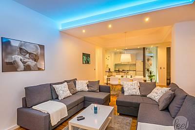 Apartamento para 6-12 personas a 13 km de la playa Oporto