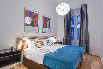 Apartamento para 4-6 pessoas a 13 km da praia Porto