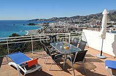 House with fantastic views near the beach and town Granada