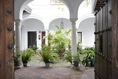Casa  palacio las palomas. Apt.Centro 600m.Playa  Cádiz