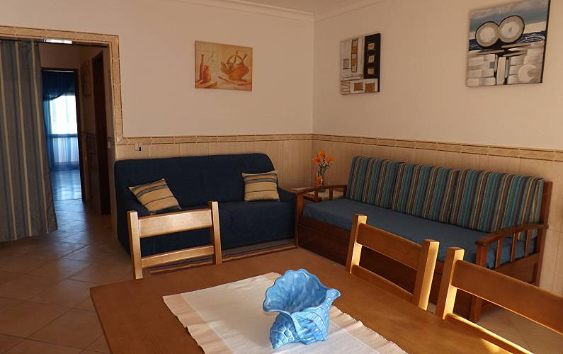 2 Salón Algarve-Faro Albufeira Apartamento - Salón